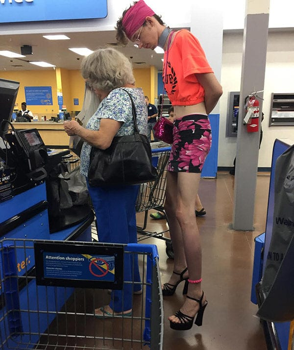 Have A Good Laugh At These Walmart Shoppers