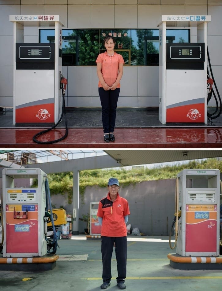 Photographer Shows Difference Between North And South Korea - And
